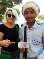 20 zlotys in Burma.