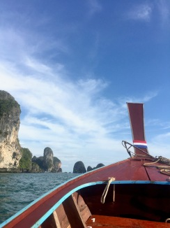 On the way to Railay Beach, Thailand.