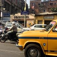 Kolkata traffic.