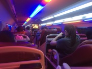 Night bus to Mui Ne, Vietnam.